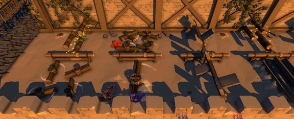 Play Rolly Ragdolls minigame in Pummel Party