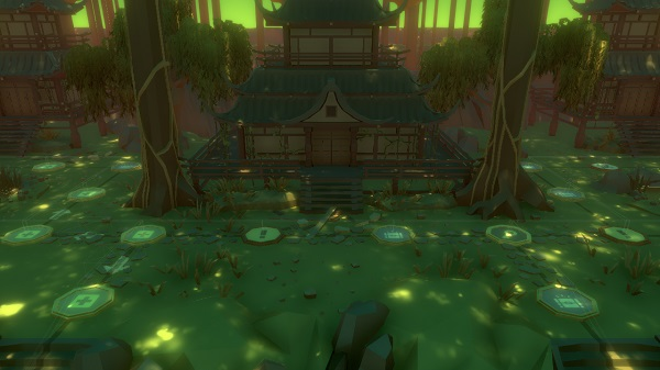 The new Overgrowth Map in Pummel Party 1.91.